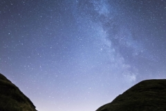 Milky Way over Mam Tor & Rushup Edge