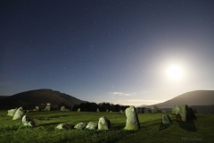 Full Moon, Castlerigg Stone Circle