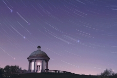 Falling stars, the Temple, Heaton Park
