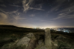 North Manchester from the Aiggin Stone, Blackstone Edge