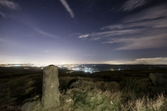 Rochdale from the Aiggin Stone, Blackstone Edage