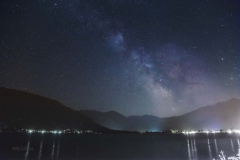 Milky Way, Zell am See, Austria