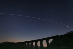 International Space Station over Ribblehead Viaduct (Tim Peake onboard)