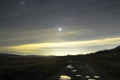Jupiter in a Puddle, Ribblehead