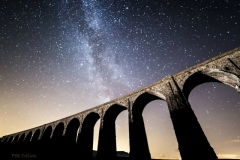 Milky Way over Ribblehead Viaduct