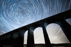 Ribblehead Star Trails