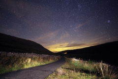 Starry night in Kingsdale