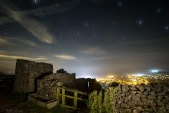 Starry night over Settle
