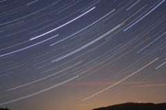 Startrails over Whernside